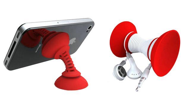 硅胶手机支架厂家定制 创意个性硅胶手机支架